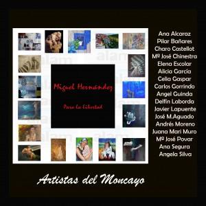 Artistas del Moncayo con Miguel Hernandez